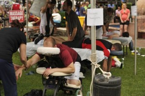 massage event