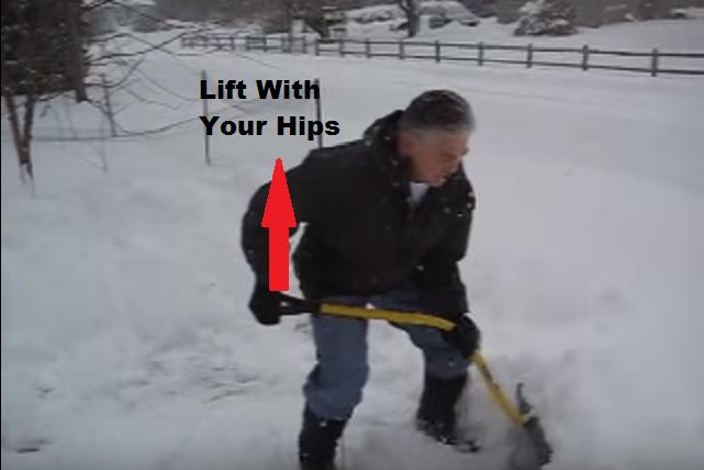 Shoveling Snow 4