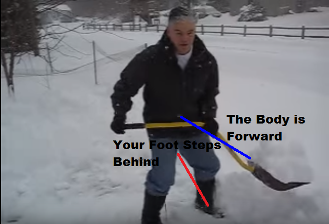 Shoveling Snow 6